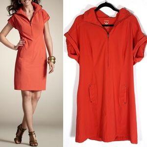 Chico's Zenergy Neema Summer Sport Hooded Dress 3